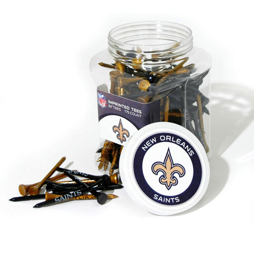 Team Golf NFL New Orleans Saints Jar Of 175 Golf Tees