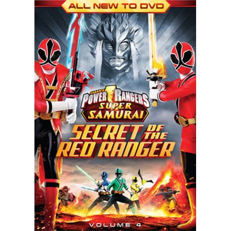 POWER RANGERS SUPER SAMURAI-SECRET OF THE RED RANGER V04 (DVD)(WS/ENG/F/2.0