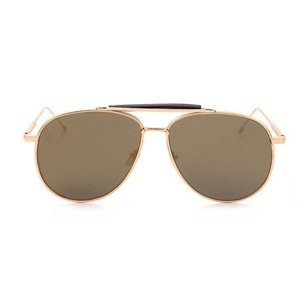 Gold Aviator Beam Sunglasses Hunter S. Thompson Fear and Loathing In Las (Designer Sunglasses Las Vegas)