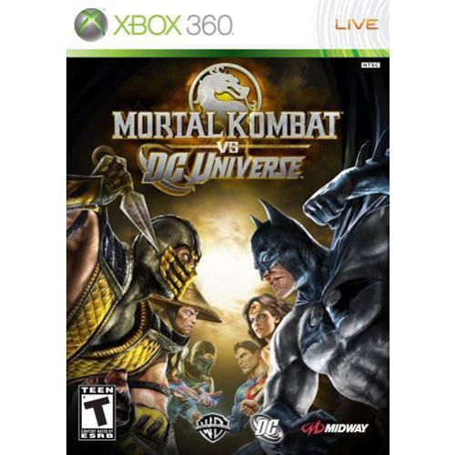 Midway Amusement Games Mortal Kombat Vs. Dc Universe (xbox 360)