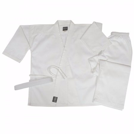 Bold Middleweight 7.5 oz Traditional Karate Uniform 300-WHITE