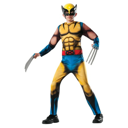 Cool Halloween Costumes 11 Year Old Boy (Marvel Deluxe Wolverine Boys' Child Halloween)