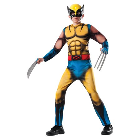Marvel Deluxe Wolverine Boys' Child Halloween Costume](Idee X Halloween)