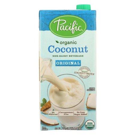 Pacific Natural Foods Coconut Original - Non Dairy - Pack of 12 - 32 Fl (Elmhurst Ca)