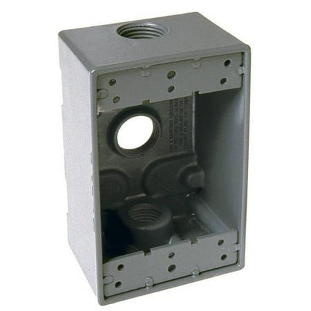 HubbellRaco Single Gang Weatherproof Box ()