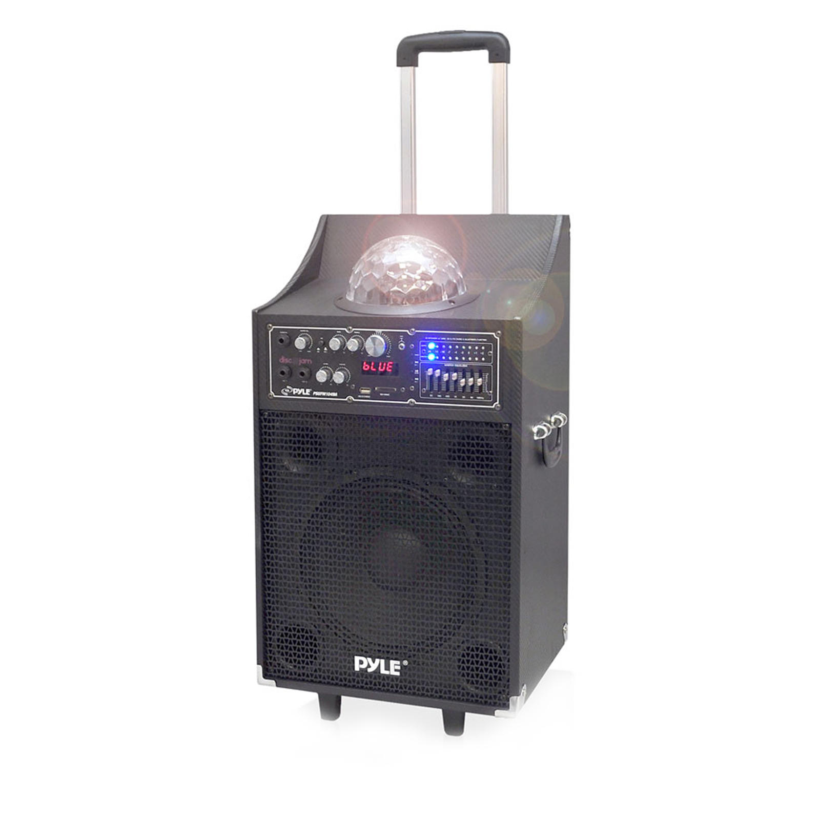 Pyle 600 Watt Disco Jam Powered Two-Way PA Speaker System w  BT Compatibility, USB & SD... by Pyle