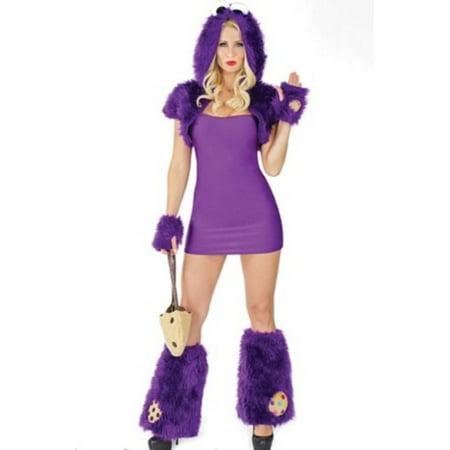 Biscuit Beast Costume M6190 Coquette Purple