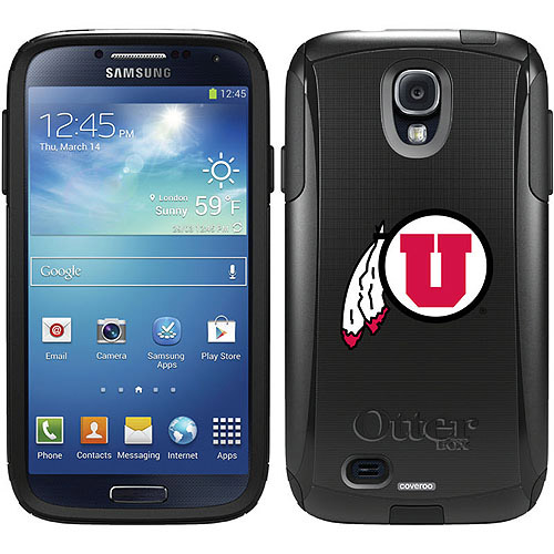University of Utah Feather Design on OtterBox Commuter Series Case for Samsung Galaxy S4