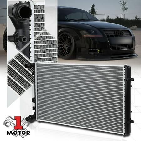 Aluminum Radiator OE Replacement for 99-10 Audi/VW TT/Golf/Gti/Jetta AT dpi-2265 00 01 02 03 04 05 06 07 08 09 (2018 Vw Gti Radiator)