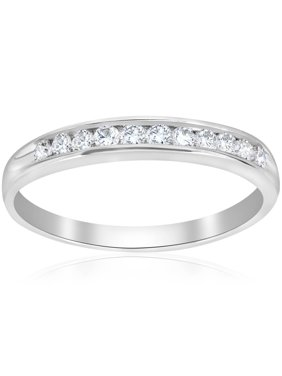 0a7f52bc93f4 Product Image Engagement Anniversary Ring 14K White Gold Round Cut 0.25 Ct  New Diamond Jewelry