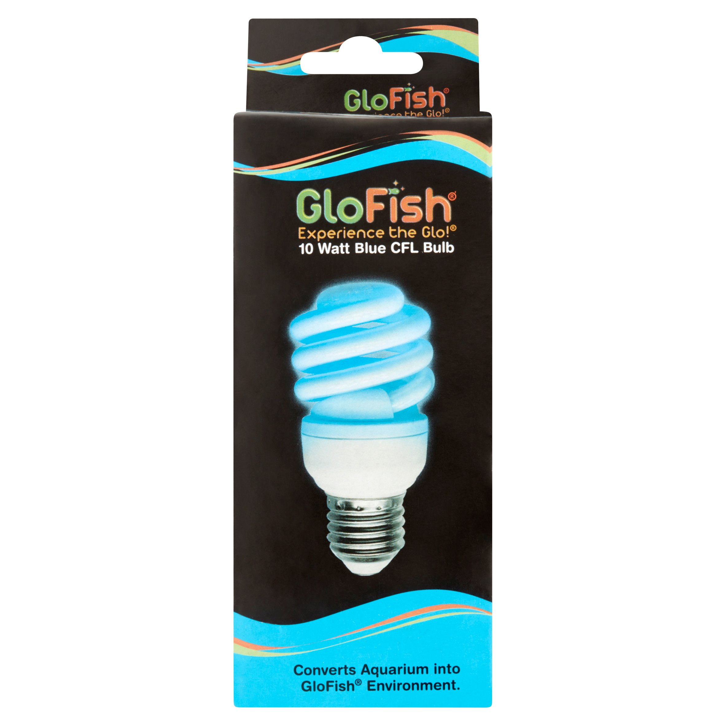 GloFish 10 Watt CFL Blue Fluorescent Light Bulb Replacement