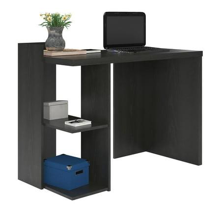 Ameriwood Home Madison Computer Desk, Black Oak
