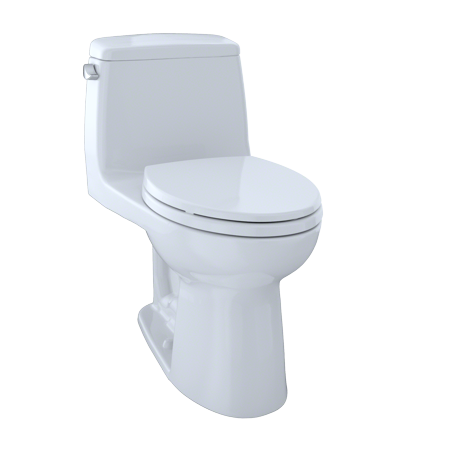 Toto Ultimate One Piece Elongated 1 6 Gpf Toilet Cotton White Ms854114