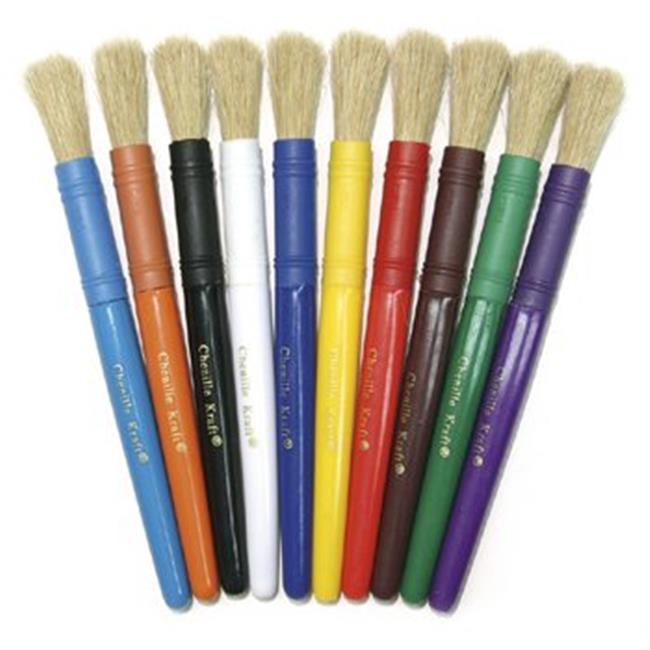 Colossal Brushes 10-Set Assorted- Colors