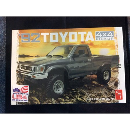 AMT 1:20 Scale 1992 Toyota 4x4 Pickup Truck Model Kit 4wd 1992 Toyota Pickup