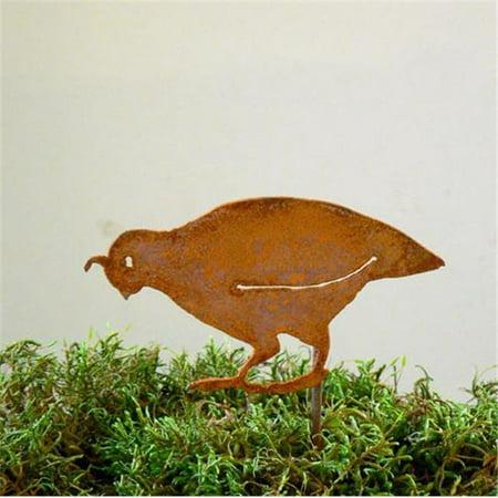 Elegant Garden Design ELEGANTS905 CA Quail Chick B Stake Bird Silhouette](Birds Silhouette)
