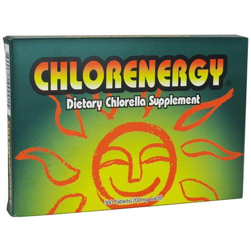 Chlorenergy Chlorella - 200 mg - 300 Tablets
