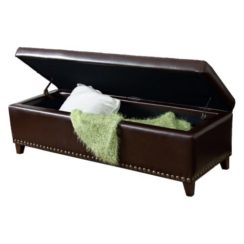 Braswell Bench Ottoman - Brown