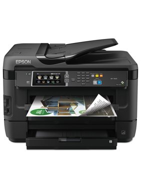 Epson WorkForce 7620 Wireless All-in-One Inkjet Printer, Copy/Fax/Print/Scan