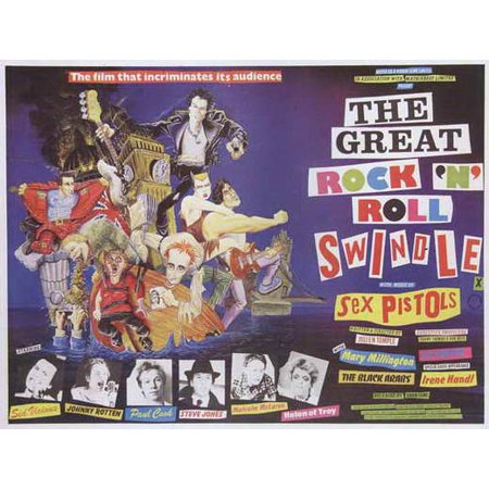 The Great Rock 'N' Roll Swindle POSTER Movie B (27x40)