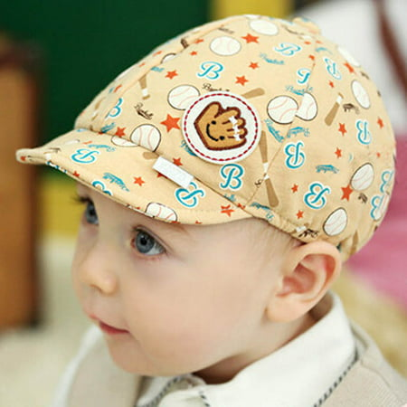 47c024497064 Outtop - Outtop Baby Boy Girl Kid Toddler Infant Hat Peaked Baseball Beret  Cap - Walmart.com