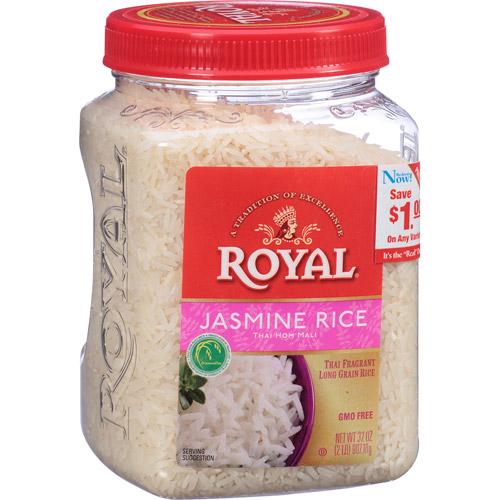 Royal Jasmine Rice, 32 oz, (Pack of, 4)