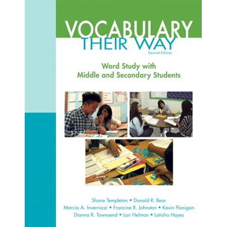 Words Their Way : Vocabulary for Middle and Secondary (Words That Have R In The Middle)