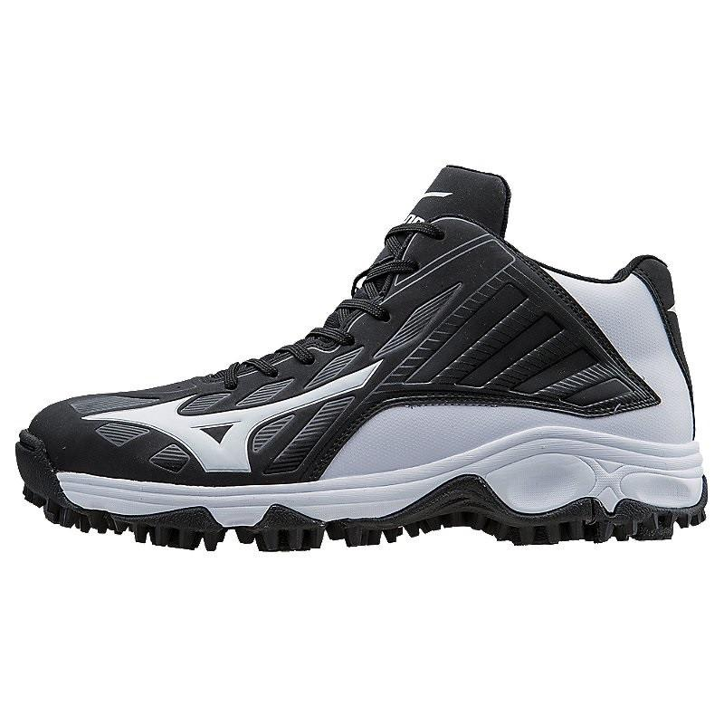 Mizuno 9-Spike Advanced Erupt 3 Baseball Turf Shoe - Mid ...