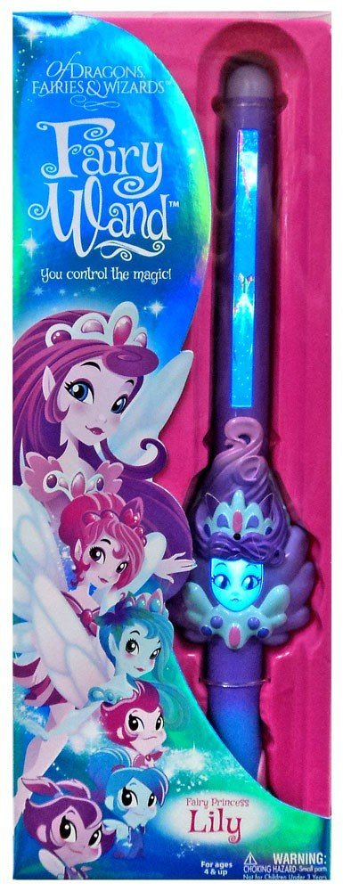 Of Dragons, Fairies & Wizards Fairy Princess Lily Fairy Wand by
