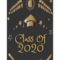 Class of 2020: Guest Book Graduation Congratulatory, Memory Year Book, Keepsake, Scrapbook, High School, College, ... (Graduation Gift) (Paperback)