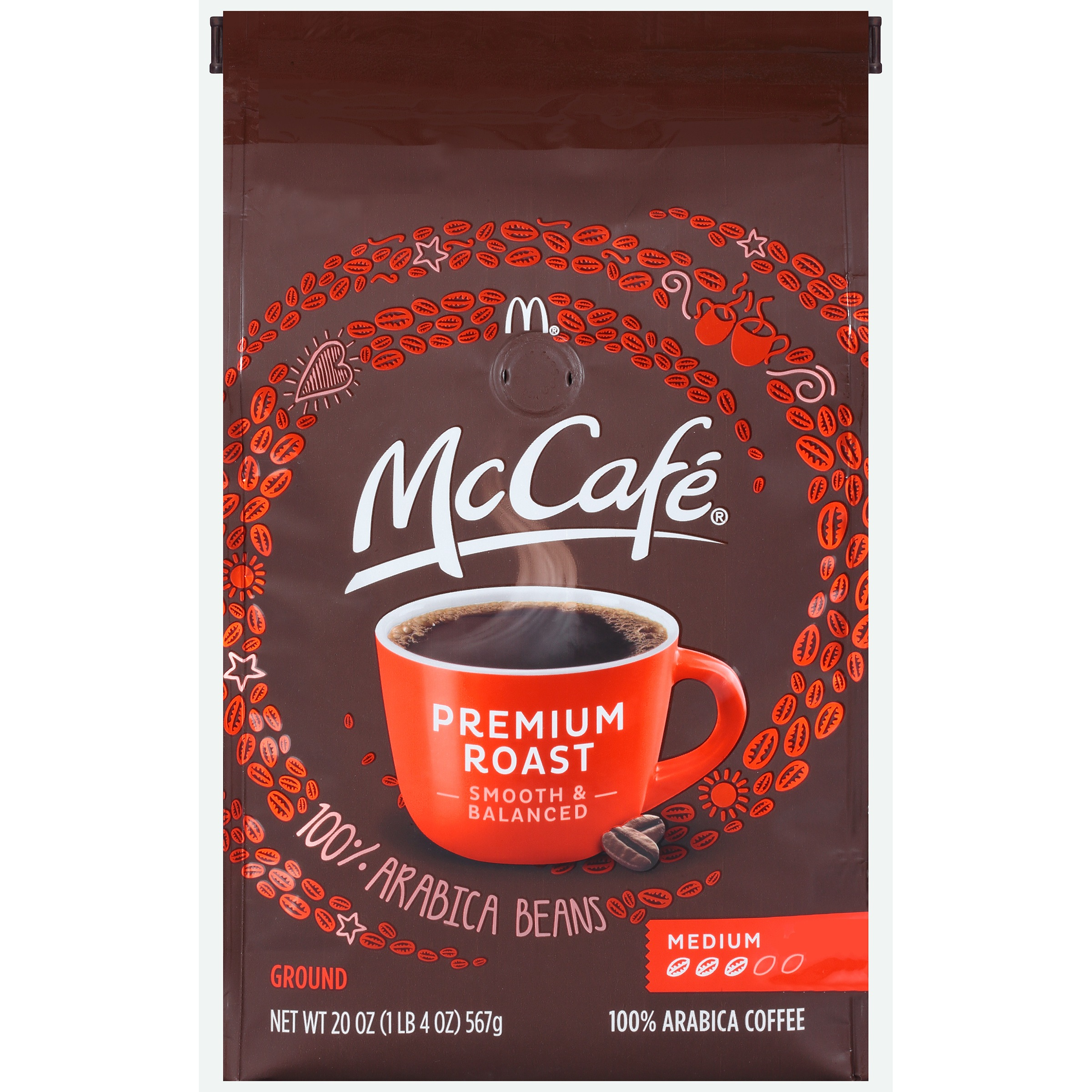 McCafe Premium Roast Ground Coffee 20 oz. Bag