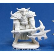 Reaper Miniatures Norgol, Irongrave Knight #77065 Bones Unpainted Plastic Figure
