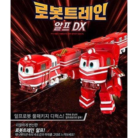 NEW Robot Trains RT Transformer DX ALF 4STEP Toy Animation Children
