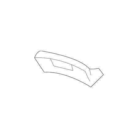 genuine oe honda fuse box cover 77222 sr3 000zc. Black Bedroom Furniture Sets. Home Design Ideas