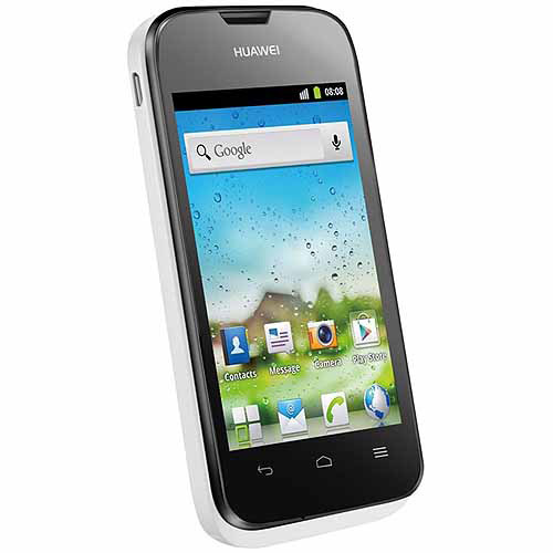 HUAWEI Ascend Y210D GSM Dual-SIM Smartphone (Unlocked), White and Black