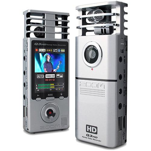 Zoom Q3HD Portable High Definition Audio Video Digital Recorder
