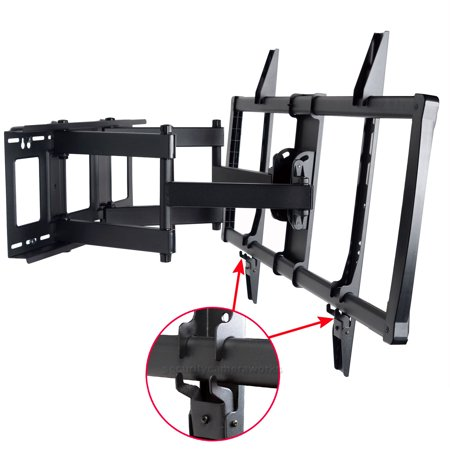 VideoSecu Full Motion Tilt Swivel TV Wall Mount Heavy Duty for VIZIO 60 65 70 75 80″ LCD LED Plasma D70-D3 E70-C3 bo7