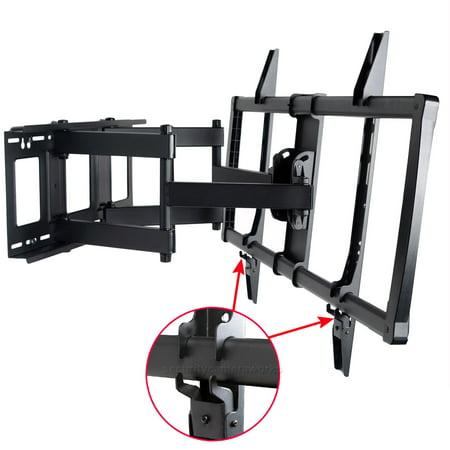VideoSecu Full Motion Tilt Swivel TV Wall Mount Heavy Duty for VIZIO 60 65 70 75 80″ LCD LED Plasma D70-D3 E70-C3 bo7