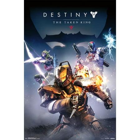Trends International Destiny Taken King Cover Wall Poster 22 375  X 34