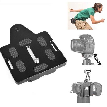 Fomito Arca Type Quick Release Plate Connecting Camera Wrist Belt Strap  Compatible For Camera Dolly   Crane   Stabilizer   Tripod   Monopod