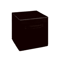 CLOSETMAID 784-00 11x10.5 Black Fab Drawer