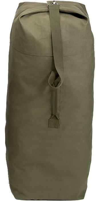 Olive Drab Military Top Load Duffle Bag 30 in. x 50 in. Cotton Canvas by Rothco
