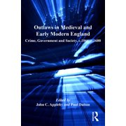 Outlaws in Medieval and Early Modern England - eBook