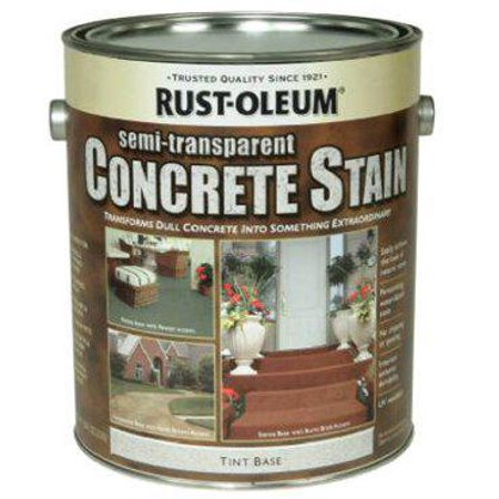 RUST-OLEUM Concrete Stain & Sealer, Semi-Transparent, 1-Gal.
