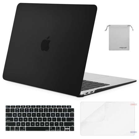 Mosiso 4 in1 Macbook New Air 13 inch Hard Cover Case A1932 Touch ID