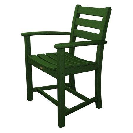 Trex Outdoor Furniture Recycled Plastic Monterey Bay Dining Arm Chair ()