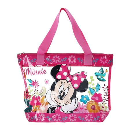 Size one size Girl's Minnie Mouse Beach Bag, Pink](Minnie Mouse Tote Bag)
