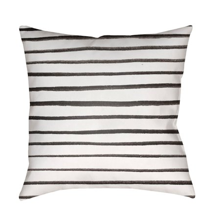 Surya Pin Striped Outdoor Pillow Walmartcom