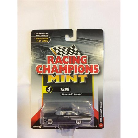 Racing Champions 1:64 Scale Gray 1960 Chevrolet Impala Diecast