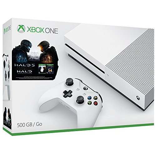 Refurbished Xbox One S 500GB Console Halo Collection Bundle